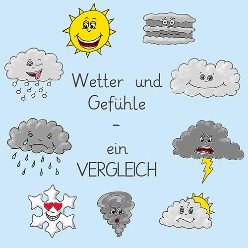 Wetter und Gefühle vergleich