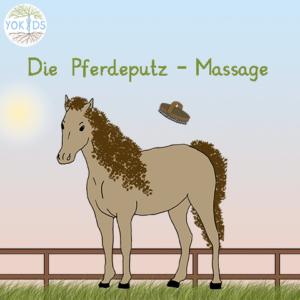 Massage Pferd putzen