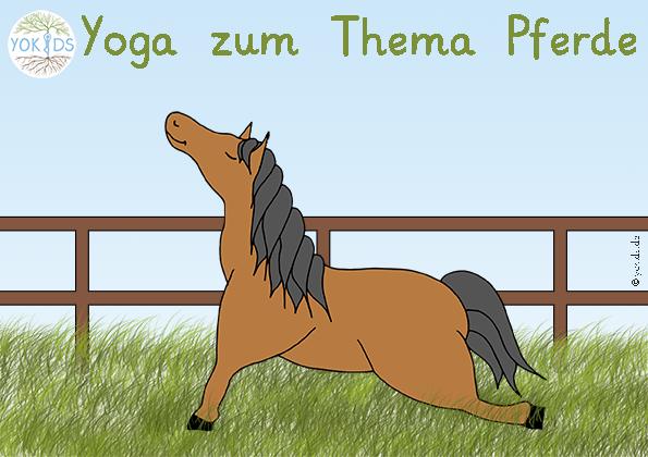 Yoga zum Thema Pferde
