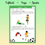 Fußball - Yoga - Spiele