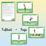 Fußball - Yogastunde mit Bildkarten