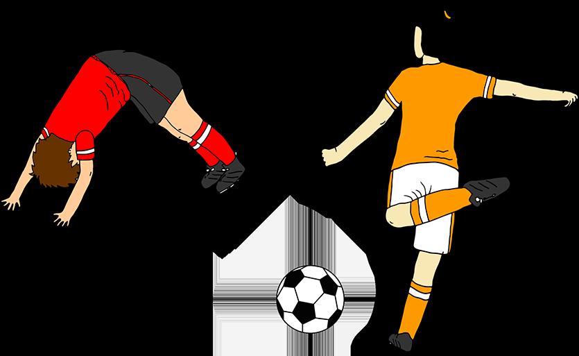 Fußball und Yoga für Kinder