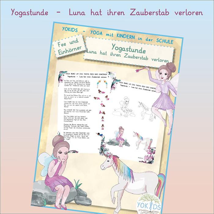 Yogastunde Fee Einhorn
