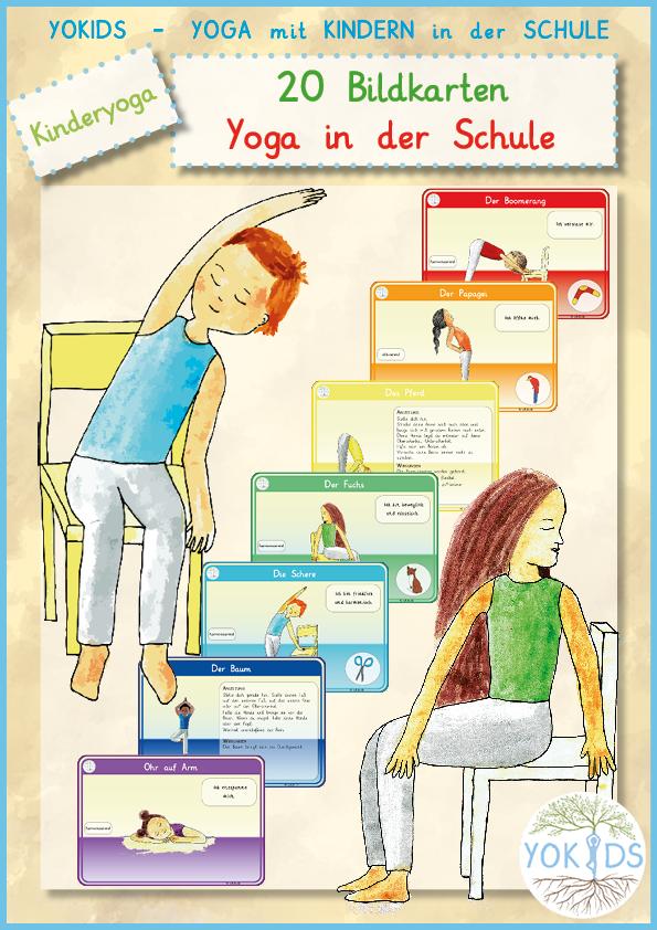 Bildkarten Kinderyoga in der Schule
