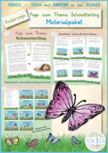 Schmetterling Yoga