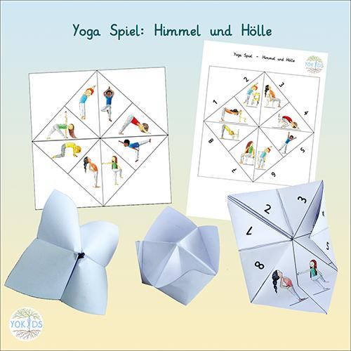 Yogaspiel Himmel und Hölle