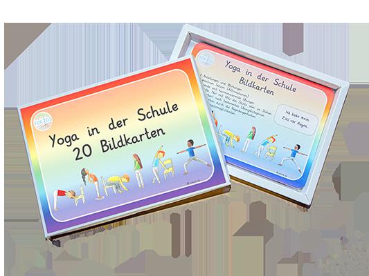 Yoga in der Schule Bildkarten