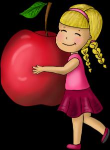 Apfel Kinderyoga