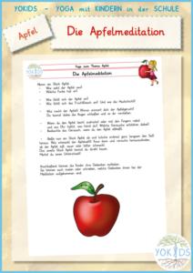 Die Apfelmeditation