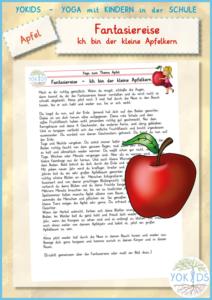Fantasiereise   Ich bin der kleine Apfelkern