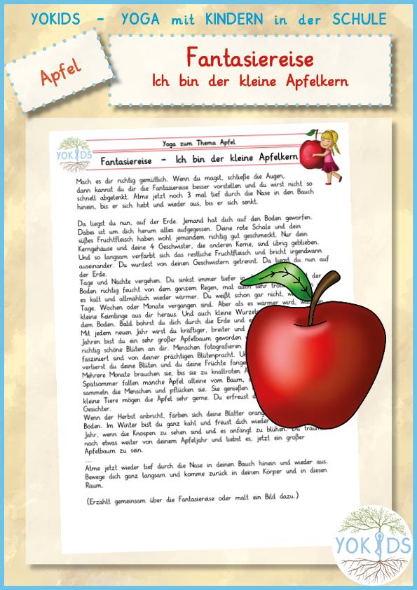 Fantasiereise | Ich bin der kleine Apfelkern