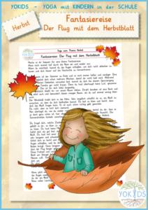 Fantasiereise | Der Flug mit dem Herbstblatt