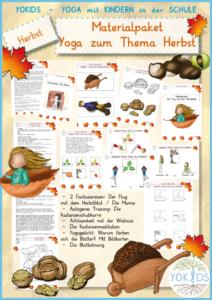 Materialpaket Yoga zum Thema Herbst